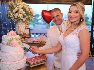 O casamento de Tatiane e André