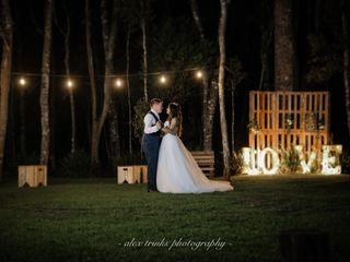 O casamento de Camila e Patrick
