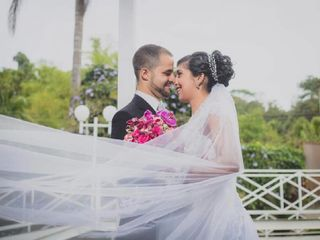 O casamento de Luana e Kaic