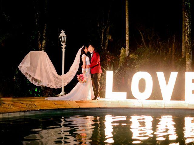 O casamento de Priscila e Marlon