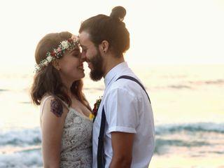 O casamento de Laryssa e André