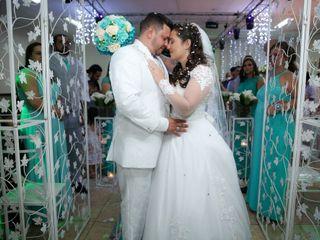 O casamento de Martina e João Batista