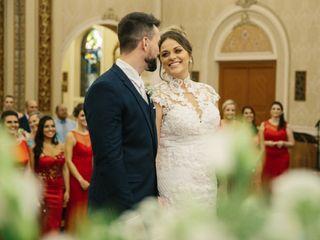 O casamento de Bianca e Geison