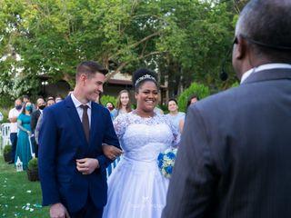 O casamento de Caroline  e Eliseu