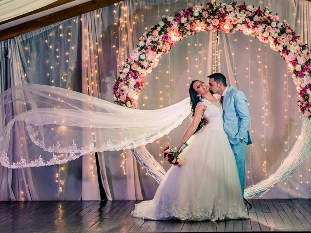 O casamento de Anderson e Erika