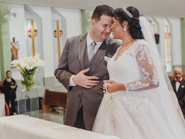 O casamento de Angelica e Sérgio