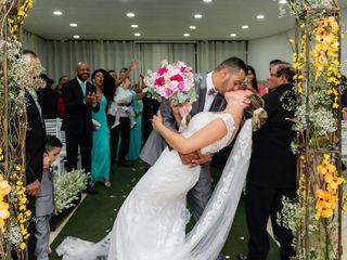 O casamento de Mikaelle e Gilvane