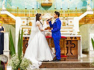 O casamento de Driele e Vinícius