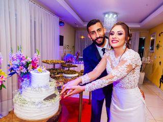 O casamento de Emanuelli e Patrich