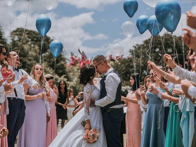 O casamento de Amanda e Victor
