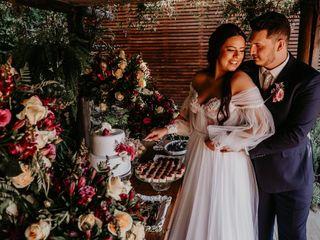 O casamento de Henrique e Nicole