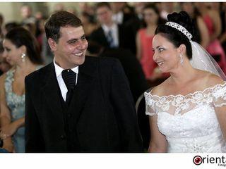 O casamento de Elaine e Sandro