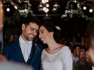 O casamento de Giselle e Érico