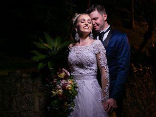 O casamento de Rubens e Renata