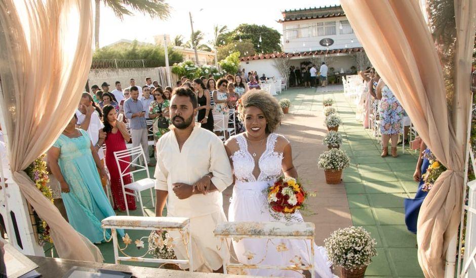O casamento de Evandro e Ezivane em Ilha de Itamaracá, Pernambuco
