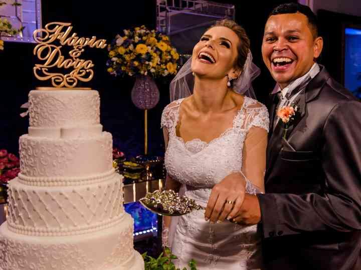 O casamento de Flávia e Diogo