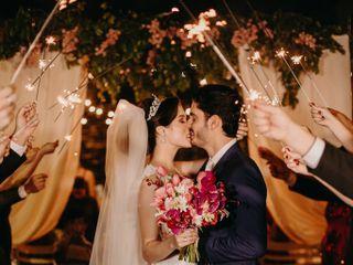 O casamento de Camilla e Gibran