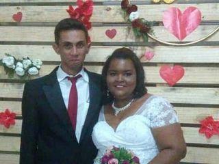 O casamento de Alana e Adriano 1