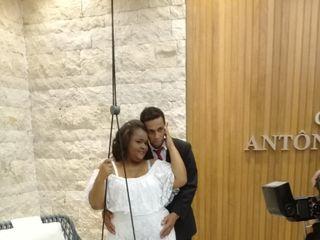 O casamento de Alana e Adriano
