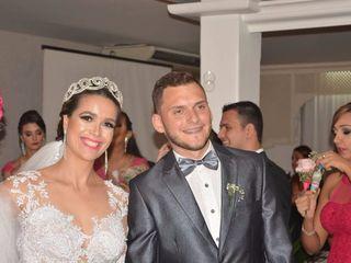 O casamento de André e Larice
