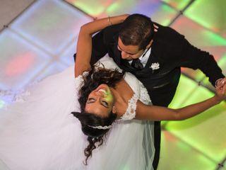 O casamento de Marcelo e Monique