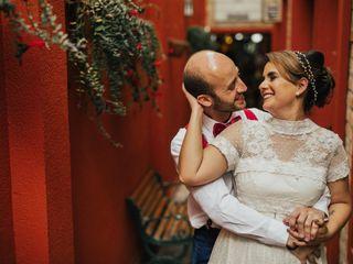O casamento de Cláudia e Sebastião