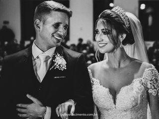 O casamento de Monique e Brenno