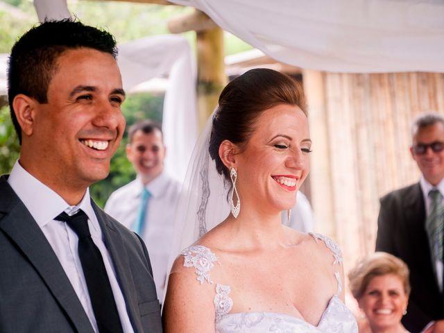 O casamento de Tatiane e Cristiano