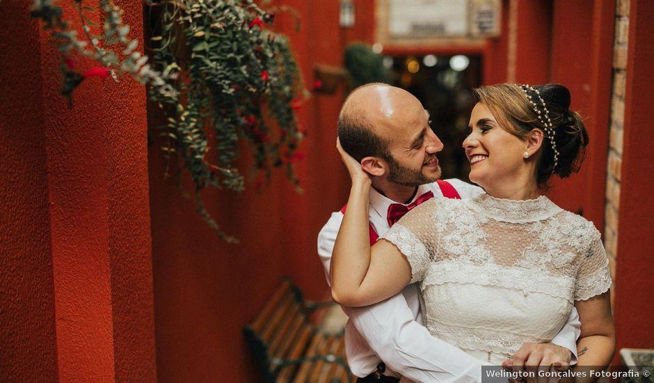 O casamento de Sebastião e Cláudia em São Paulo, São Paulo