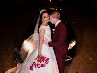 O casamento de Agnes e Luciano