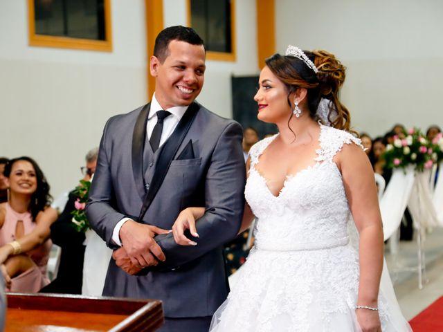 O casamento de Elisângela e Augusto