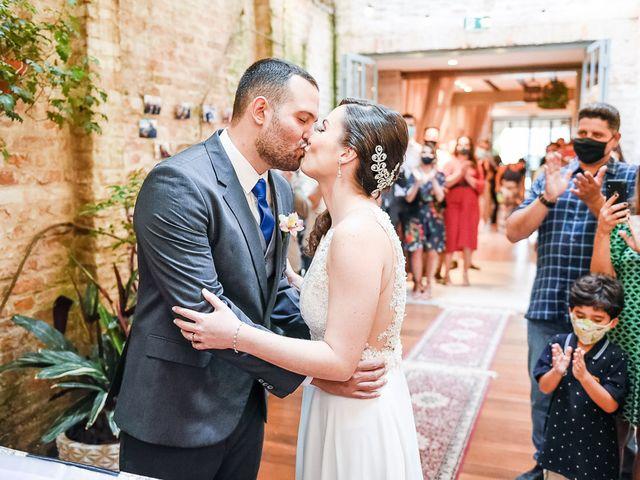 O casamento de Marcella e Leandro