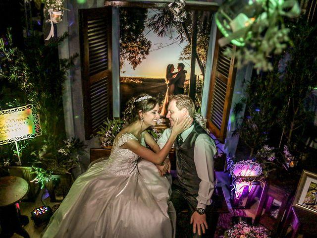O casamento de Cristiane e Cristian