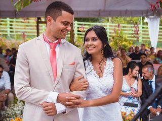 O casamento de Jersyca e Marcos