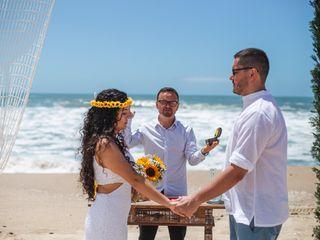 O casamento de Samantha e Rossano
