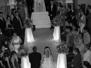 O casamento de Karin e Ademir
