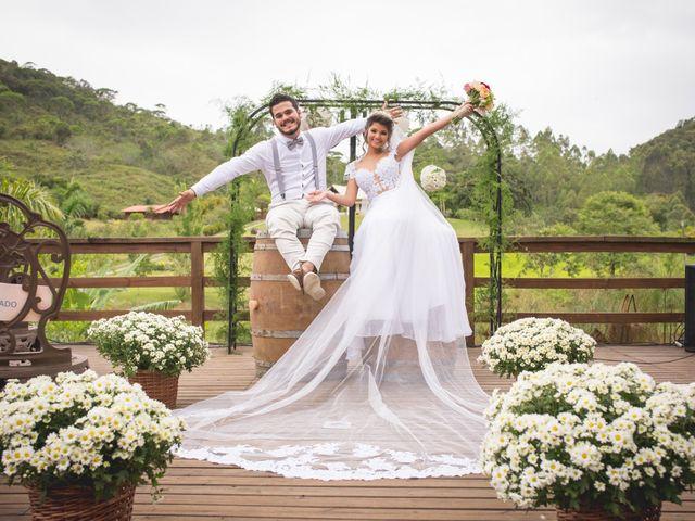 O casamento de Lorrayne e Johan