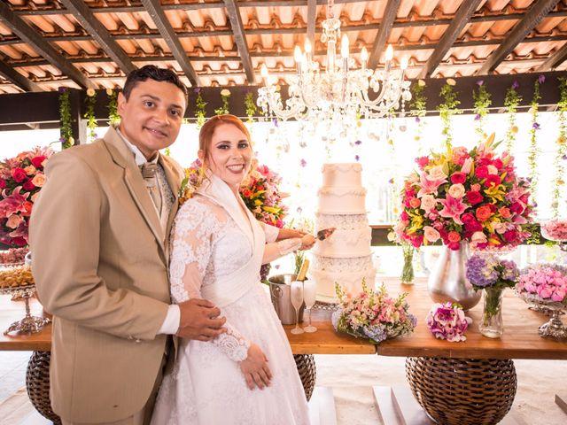 O casamento de Liliane e Arthur