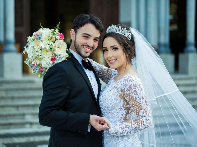 O casamento de Monique e Pedro