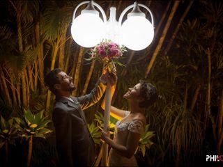 O casamento de Lílian e Eduardo