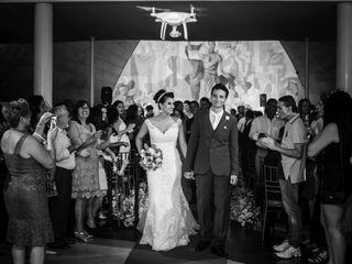 O casamento de Camila e Farley