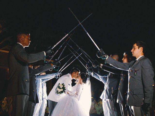 O casamento de Alessandra e Marcos