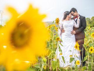O casamento de Kathleen e Mauro