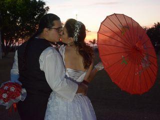 O casamento de Bruna e Nelson