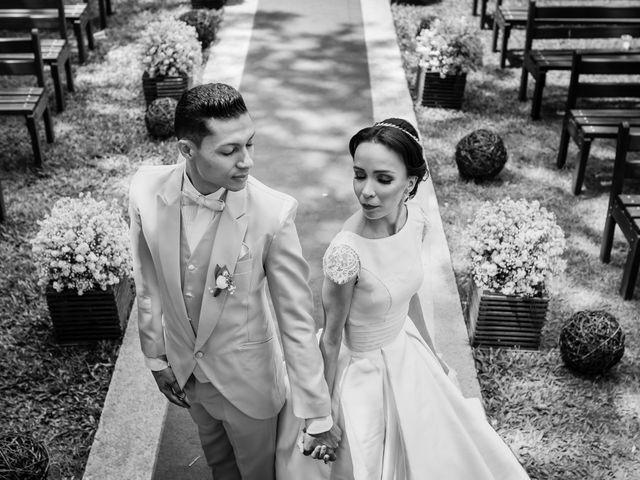 O casamento de Regiane e Alex