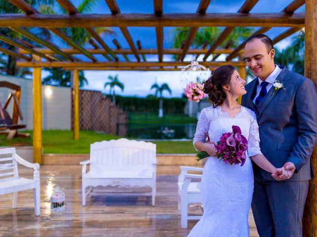 O casamento de Karla e Glauber