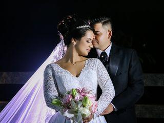 O casamento de Halayne e Damião