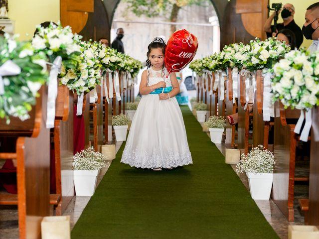 O casamento de Damião e Halayne em Diadema, São Paulo 31