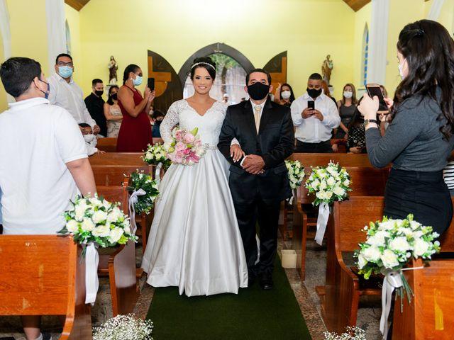 O casamento de Damião e Halayne em Diadema, São Paulo 34