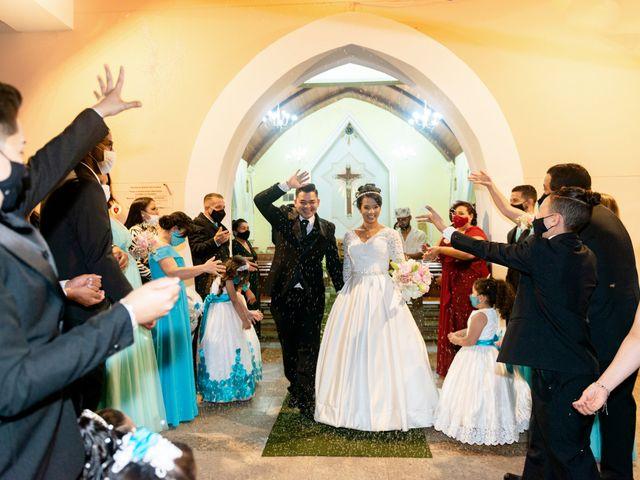 O casamento de Damião e Halayne em Diadema, São Paulo 39